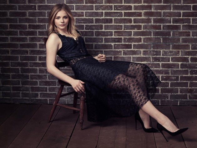 Wallpaper actress, girl, dress, legs, chloe moretz, chloe grace moretz, black dress