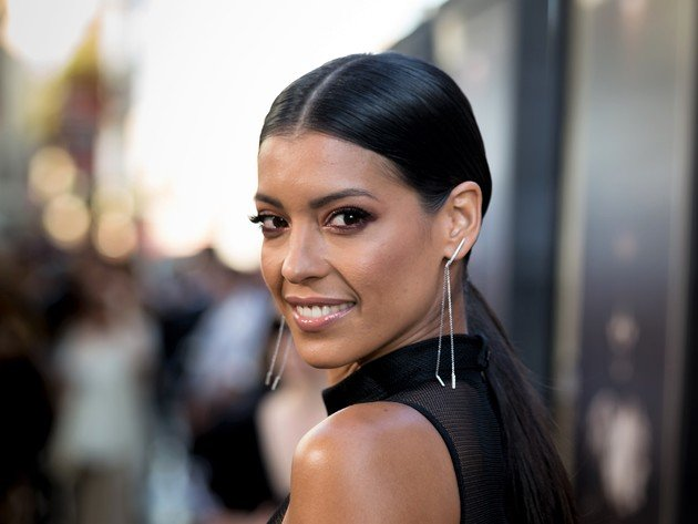 Wallpaper actress, brunette, smile, beauty, stephanie sigman